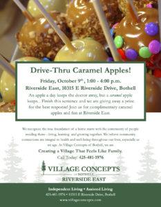 Caramel Apple Drive Thru @ Village Concepts Of Bothell/Riverside East