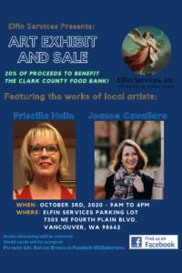 Elfin Services Presents - Art Exhibit and Sale @ Elfin Services