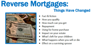 Reverse Mortgages: Things Have Changed @ ZOOM