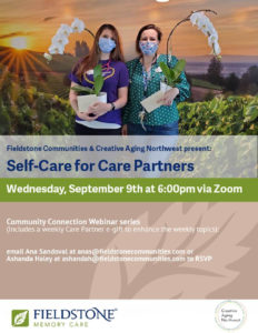 Self-Care for Care Partners @ ZOOM