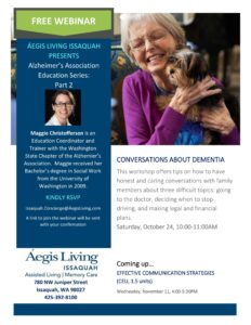 Conversations About Dementia @ Zoom