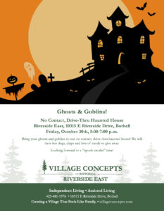 Drive Thru Haunted House @ Village Concepts Of Bothell/Riverside East