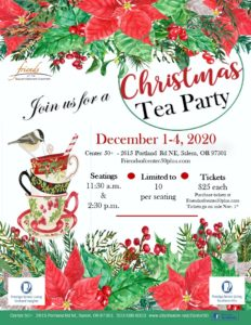Christmas Tea Party @ Center 50+