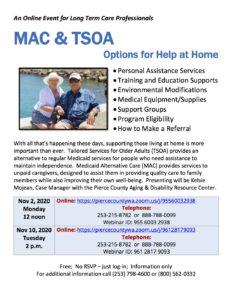 MAC & TSOA: Options for Help at Home @ https://piercecountywa.zoom.us/j/96128179093