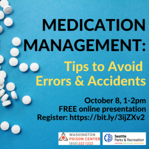 Medication Management: Tips to Avoid Errors & Accidents @ online