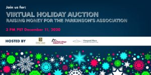Virtual Holiday Auction @ Raising Money for The Parkinson's Association