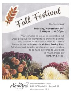NW Place Fall Festival @ NW Place Retirement Community