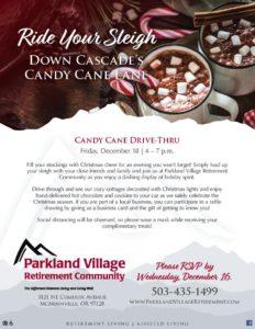 Candy Cane Drive-Thru @ Parkland Village Retirement Community