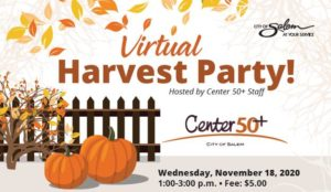Virtual Harvest Party @ Virtual