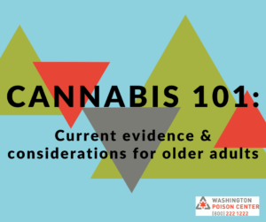 Cannabis 101: Current Evidence & Considerations for Older Adults @ GoToTraining