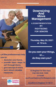 Downsizing & Move Management @ Online