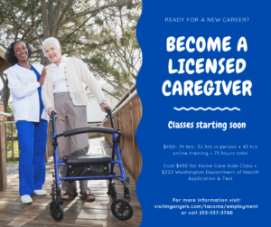 Home Care Aide Class @ Visiting Angels Tacoma