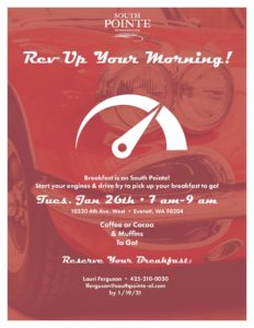 Rev Up Your Morning! @ South Pointe