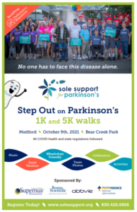 Sole Support Walk Series for Parkinson's @ Bear Creek Park - Medford, OR