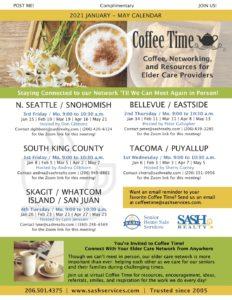 SASH Coffee Time SKAGIT / WHATCOM ISLAND / SAN JUAN @ ZOOM