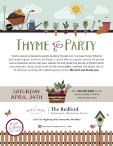 Thyme to Party @ The Bedford