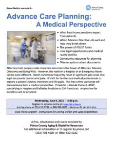 Advance Care Planning: A Medical Perspective