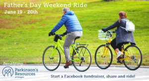 Father's Day Weekend Ride for Parkinson's @ A trail or bike path near you!