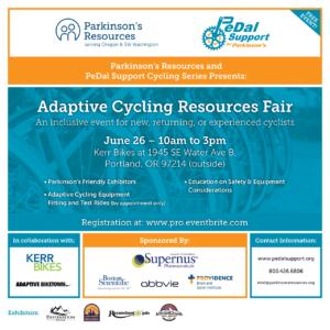 Adaptive Cycling Resource Fair @ Kerr Bikes/Adaptive Biketown