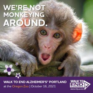 Portland Walk to End Alzheimer's @ Oregon Zoo