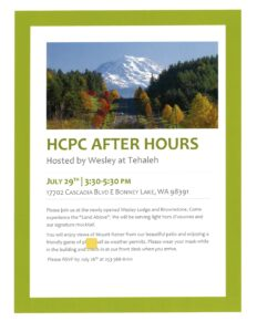 HCPC After Hours @ Wesley at Tehaleh