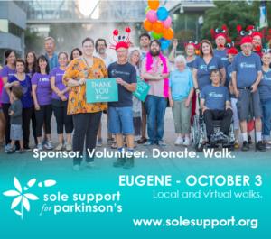Sole Support Walk for Parkinson's - Eugene @ Alton Baker Park