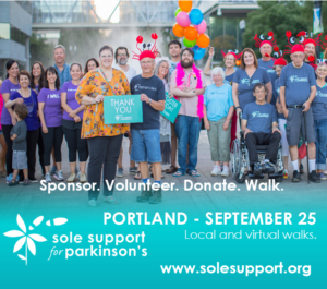 Sole Support Walk for Parkinson's - Portland Metro @ Zidell Yards