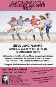 Senior Living Planning @ Silverton Senior Center