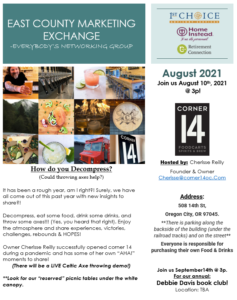 East County Marketing Exchange (ECME) @ Online Zoom Meeting | Clackamas | Oregon | United States