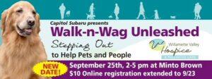 Walk-n-Wag Unleashed @ Minto Brown Island Park