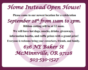 Home Instead Open House @ Home Instead