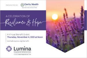 Lumina's Annual Benefit Event @ Virtual